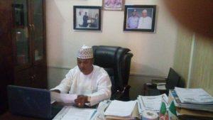 Amb. Aminu Majidadi at his Office_2
