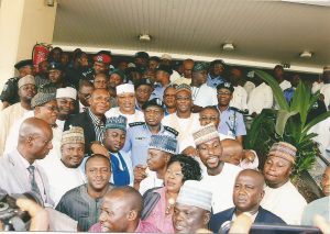 In a Group Photograph with the IG of Police and Notable Individuals_2