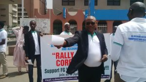 Rally Supporting FG on Whistle Blowing